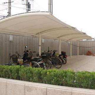 PVC soft with stable quality car parking shades