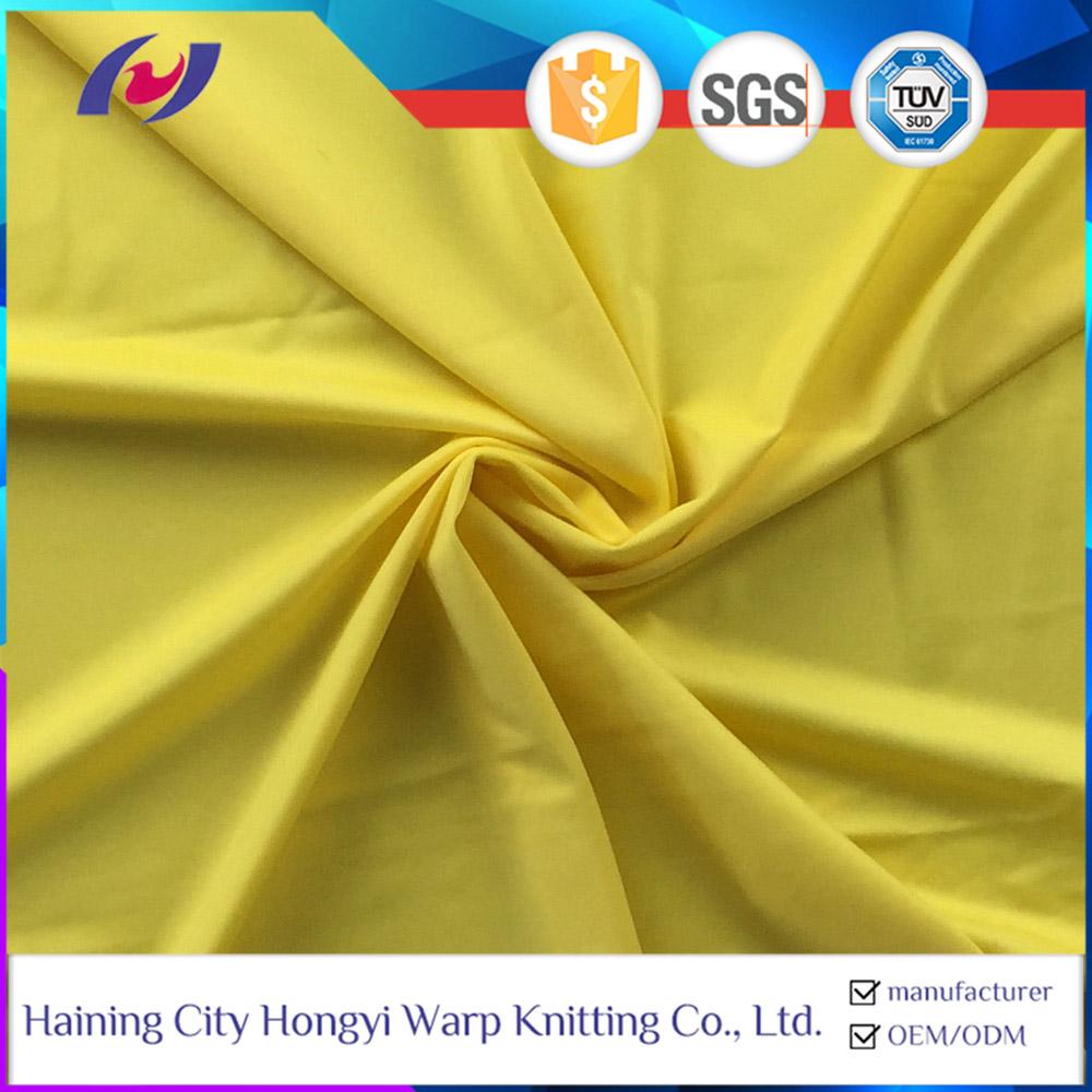 85 Polyester 15 Spandex Elastic fabric Shiny Leggings Swimwear Fabric