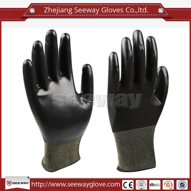 SeeWay 701 Oil Resistant with Nitrile Coating Working Gloves