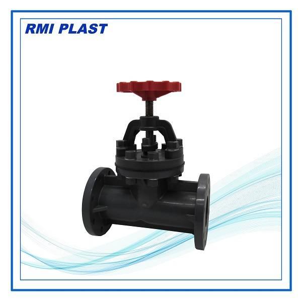 plastic globe valve, PVDF, CPVC, PPH