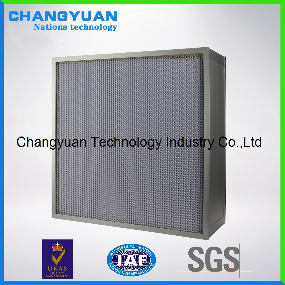 With Pleated HVAC fiberglass Filter ,Efficiency Panel Filter Factory, HEPA Filter