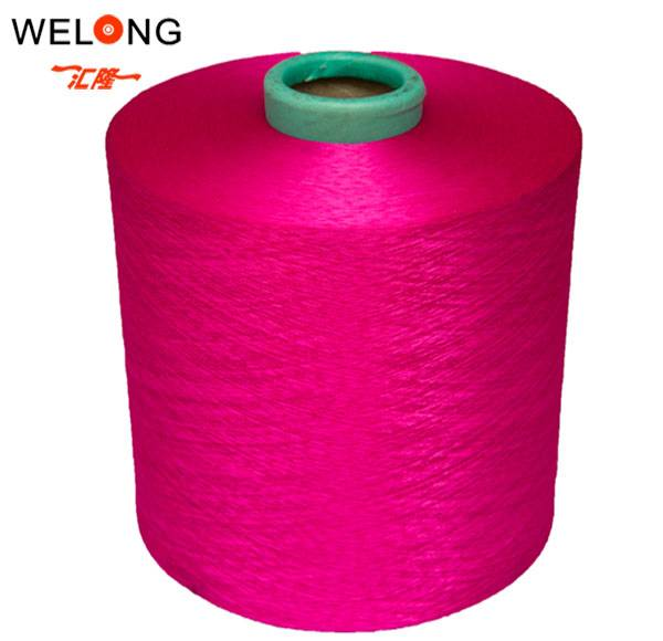 polyester textured yarn for weaving