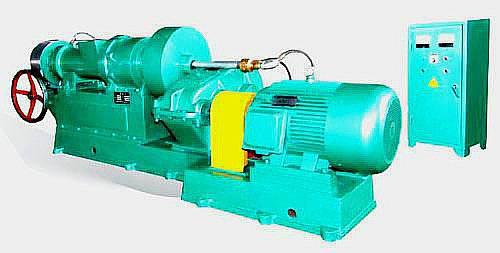 Rubber straining machinery