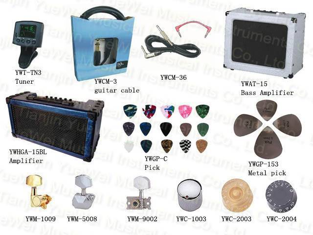 Guitar tuner, metronome,amplifier,cable,pick  guitar accessories