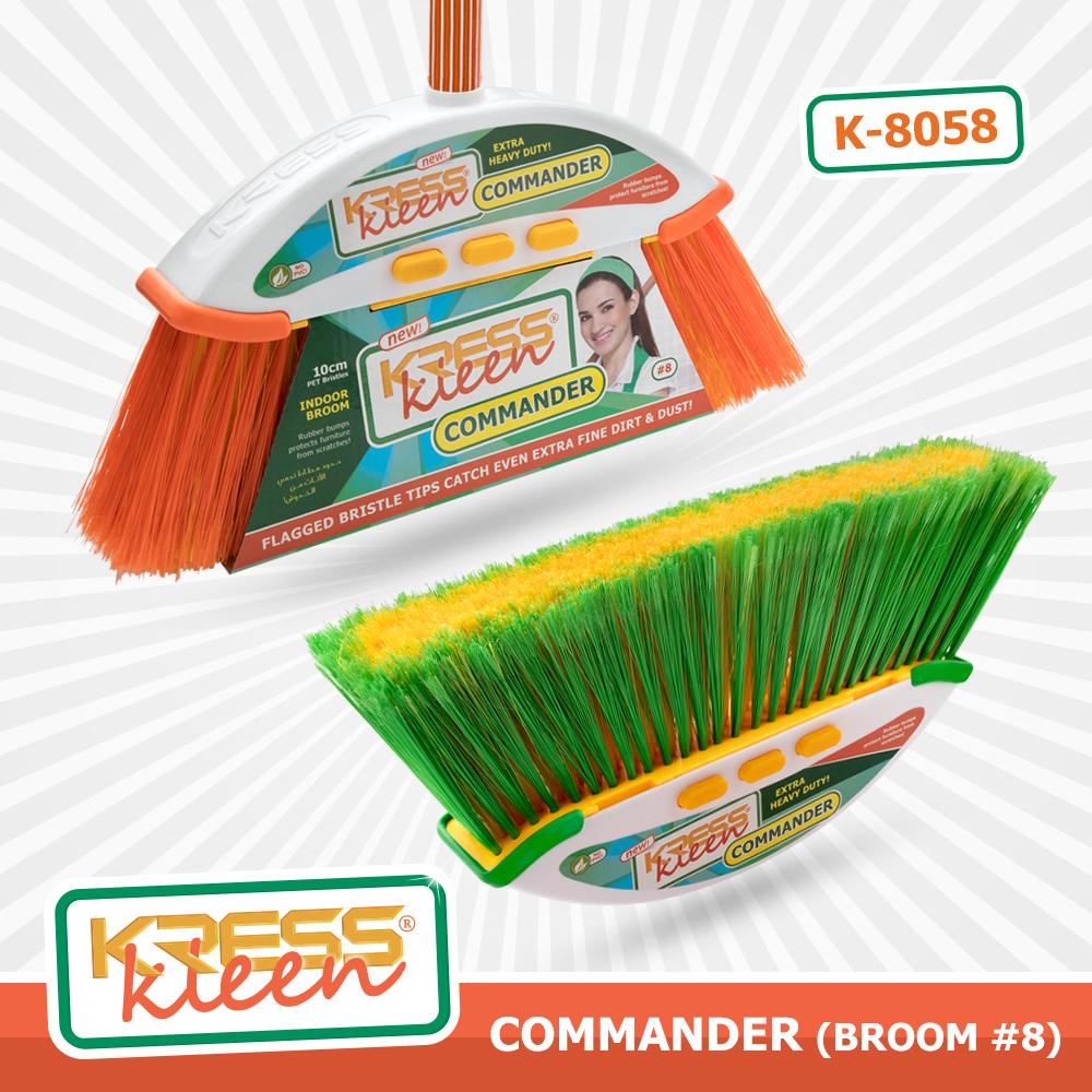 KRESS Kleen COMMANDER (Indoor broom #8)