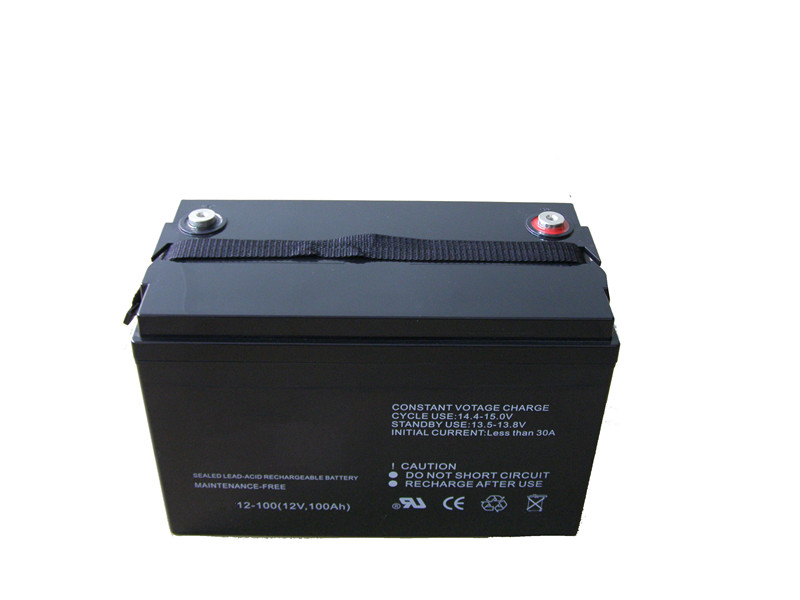 12V100AH VRLA storage AGM battery