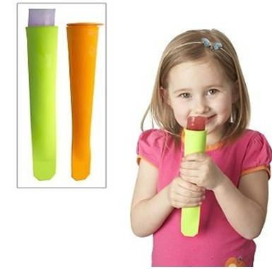 Hot selling amazon silicone ice pop mold