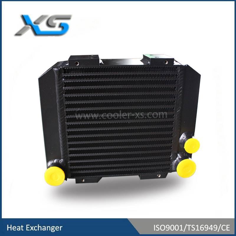 harvest machinery heat exchanger