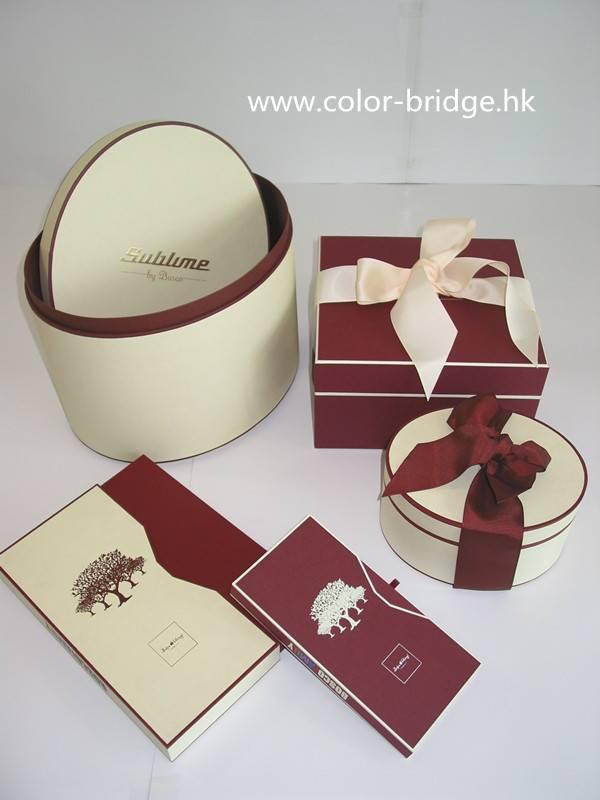 Customizing Cardboard Paper Packaging Gift Box Jewelry Box