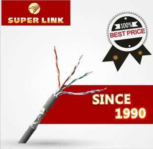 network cable  CAT5e SFTP/4*2*0.5 OFC/64*0.12shield braid
