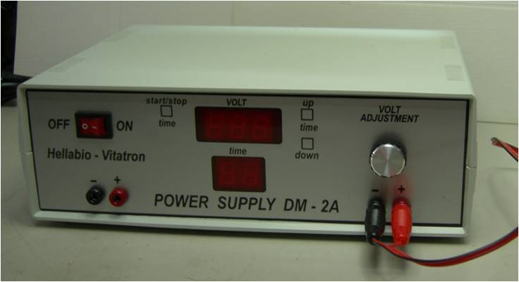 Power supply for electrophoresis