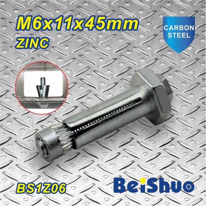 M6X45mm Zinc Plated Expansion Bolt Anchor with High Tensile