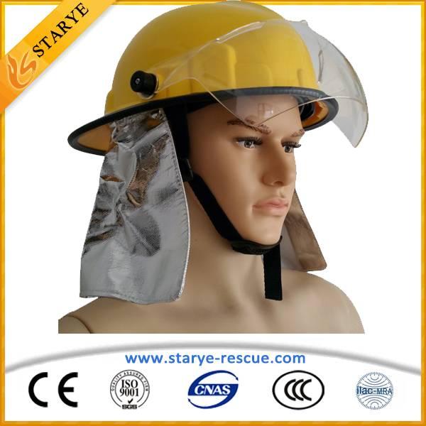 CE Standard Emergency Rescue Firefighting Helmet Korea Type Fireman Protect Helmet