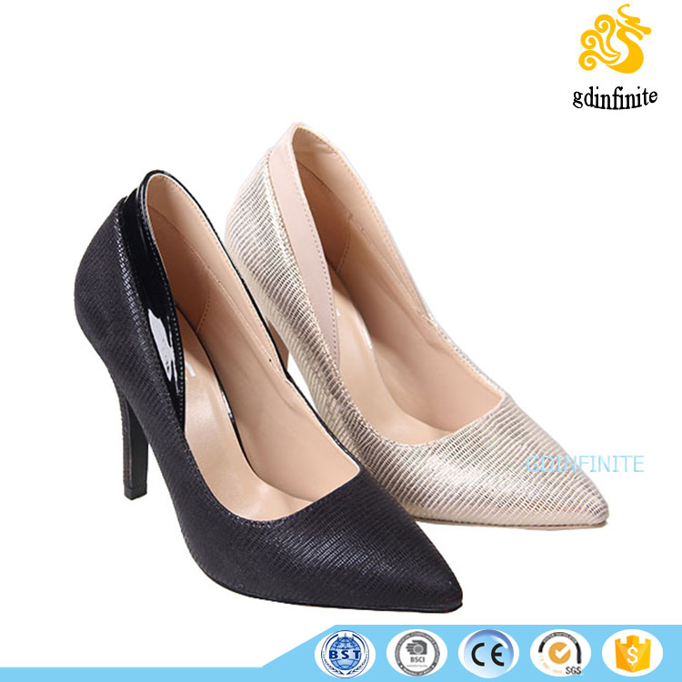 Charming Ladies Stiletto Heels 2017 Office Dress High Heel Single Shoes Women