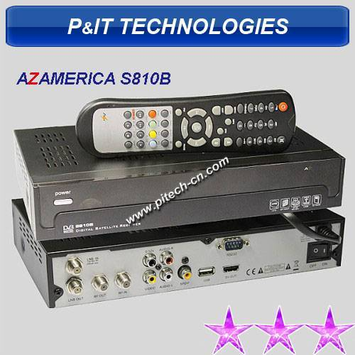 AZ America S810b DVB-S Set Top Box  With HDMI