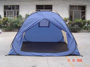 self erecting camping tent
