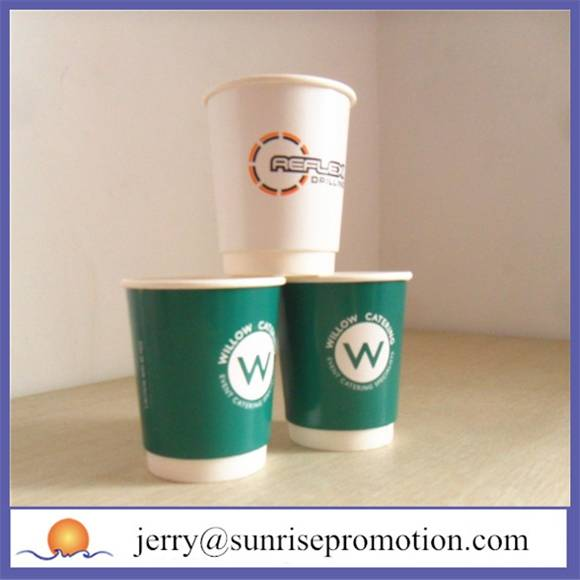 Double wall printed 12oz cups