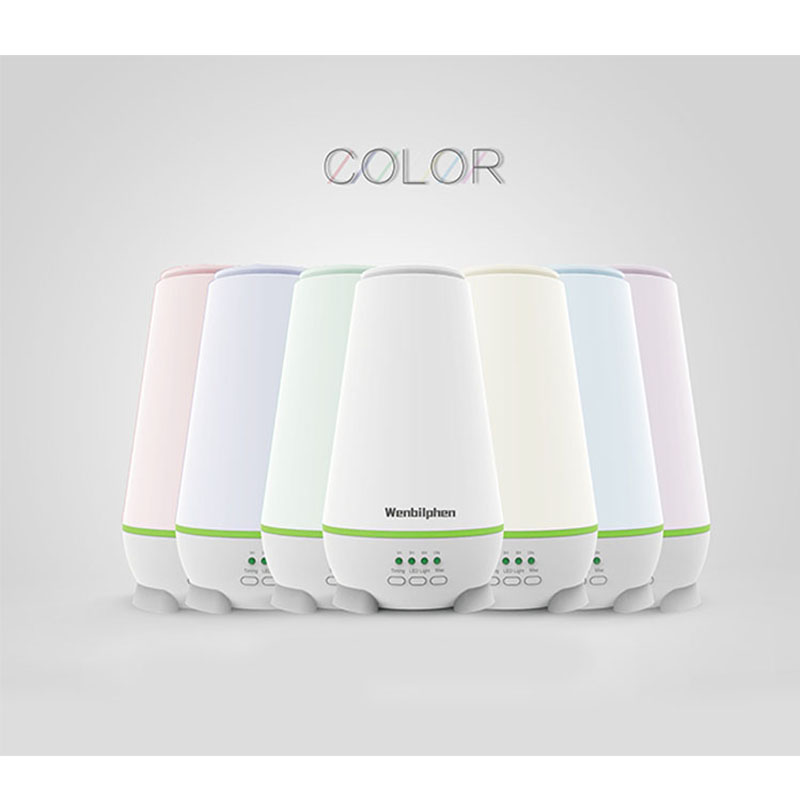 YM-01 150ml Ultrasonic Aroma Essential Oil Diffuser For Yoga Office Bedroom