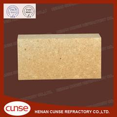 qualified manufacturer low creep fireclay refractory brick for hot blast stove