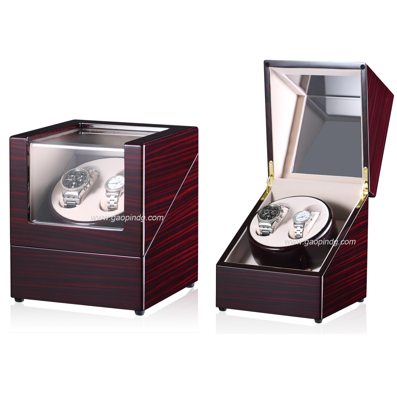 Custom Made Wooden Modern Watch Winder Box