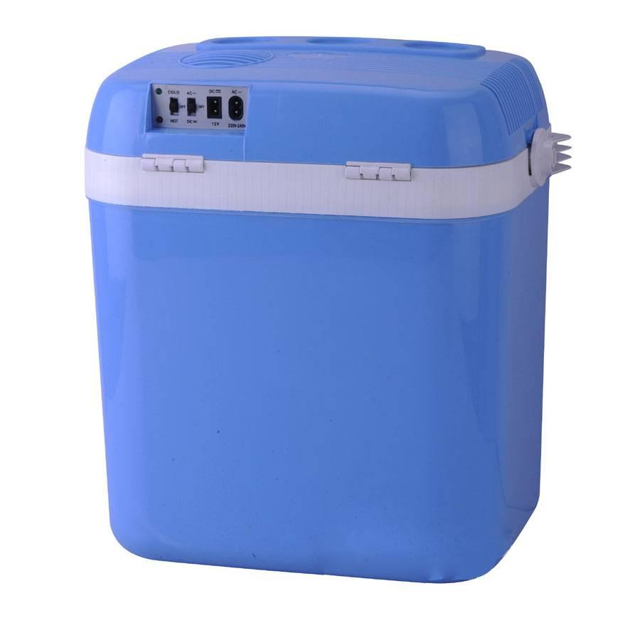 Cooler or Warmer 12V 24L 124A Mini Car Refrigerator /Car Small Refrigerator Dual-Use Refrigerator In