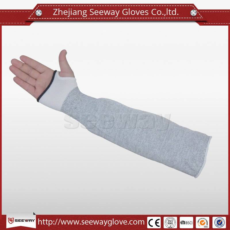 SeeWay F518 Hdpe Protective Arm Sleeves Cut Resistant Sleeve Thumb Holes Thumb Slot