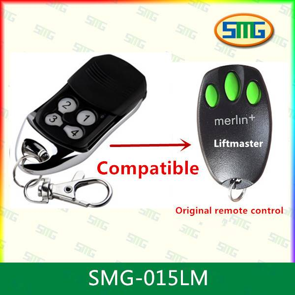 SMG-015LM+ Remote replacement for merlin+ C945 C940 C943 CM842 3 channels