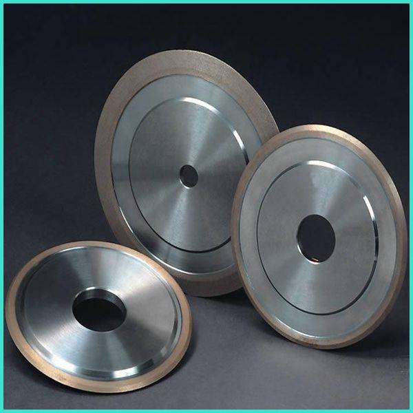 Abrasive Tools Double Bevel Frame Resin Bond CBN Grinding Wheels