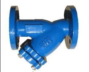 cast or ductile iron valve,y-strainer valve,design:din3352,bolt cover,high pressure