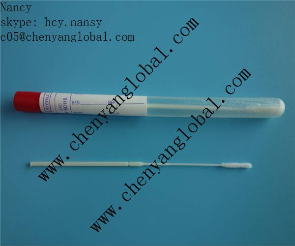 CY96000 DNA Nasal Sample Specimen Collection Flocked Swab