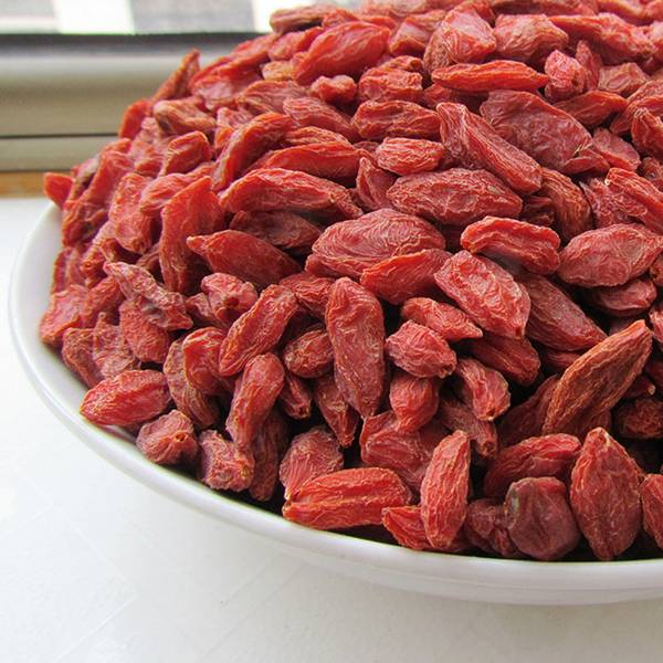 Red Dried Goji Berries Traditional / Organic