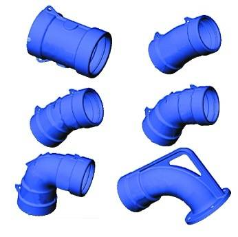 Ductile iron (GGG) Elbow, Bend