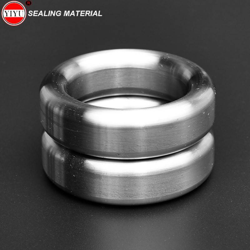 Stainless steel SS316L R-OVAL Ring Joint Gasket