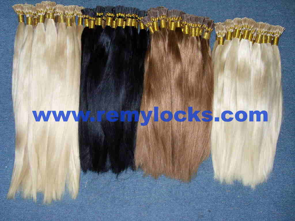 Remy I-tip hair/stick hair