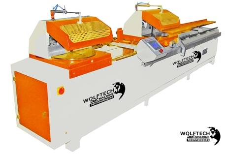 Automatic Double Head Cutting Machine (Touch Panel)  	 Automatic Double Head Cutting Machine (Touch