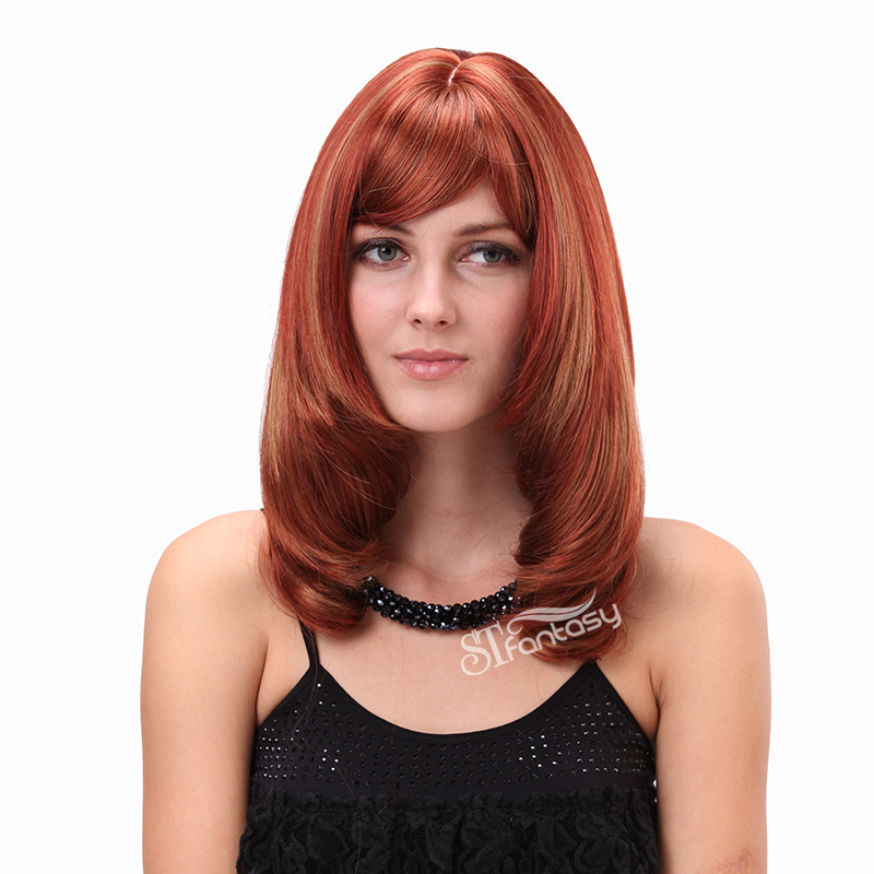 2016 New Fashion Synthetic Wigs For Women