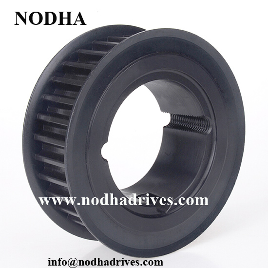Type H150 timing belt pulley with taper lock