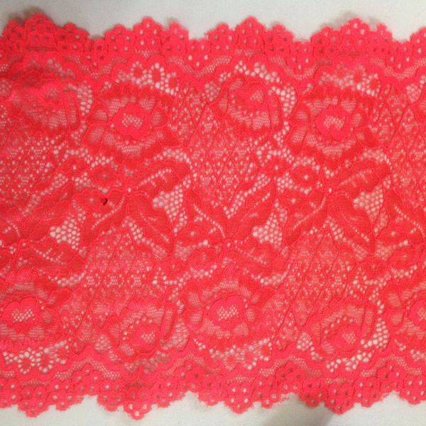 Good hand feeling Nylon/Spandex Mix Lace.Good Yarn and good stretch