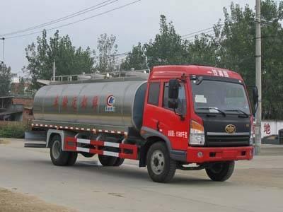 FAW 4*2 10CBM milk tanker truck