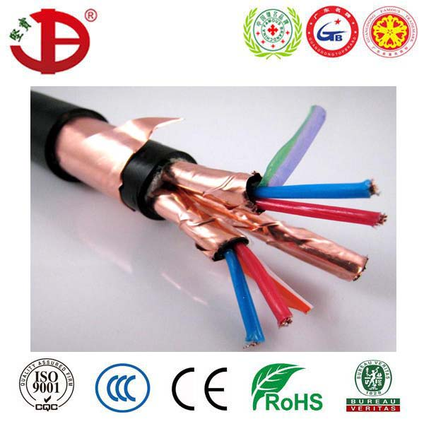 KVVP2 PVC Insulated and Sheathed Copper Tape Shield Control Cable