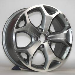 15'' 16'' inch silver finish alloy wheels fit for FORD car