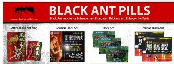 German Black Ant Male Libido Sex Drive Fast Acting Men Enhancement Pills