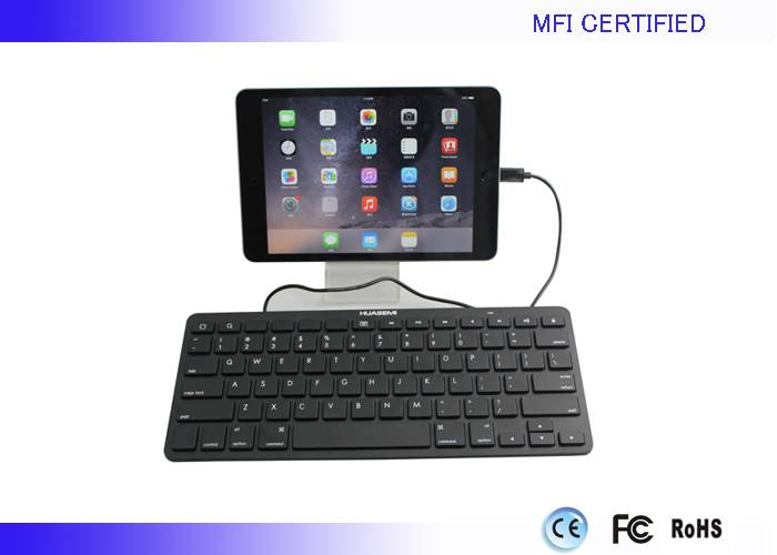 MFI iPad Air Wired keyboards with 8 pin Lightning connector