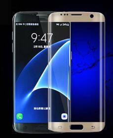 Premium HD Clear Film Full Screen Tempered Anti-Fingerprint Glass Screen Protector for Samsung s7 ed