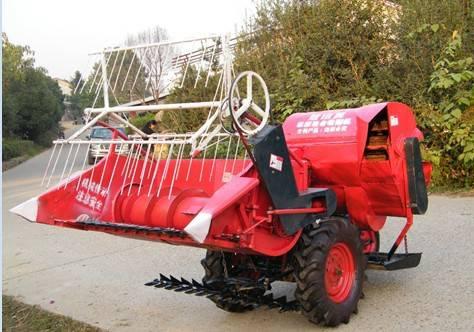 Mini Wheat&Rice Combine Harvester