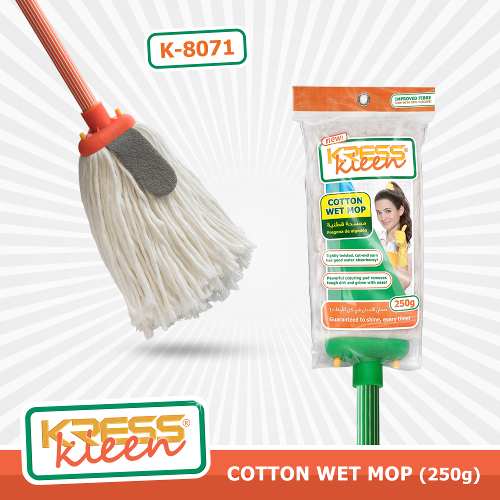 KRESS Kleen Cotton Wet Mop