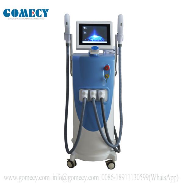 Gomecy hot multifunction facial beauty machine ipl nd yag opt shr hair removal skin care machine