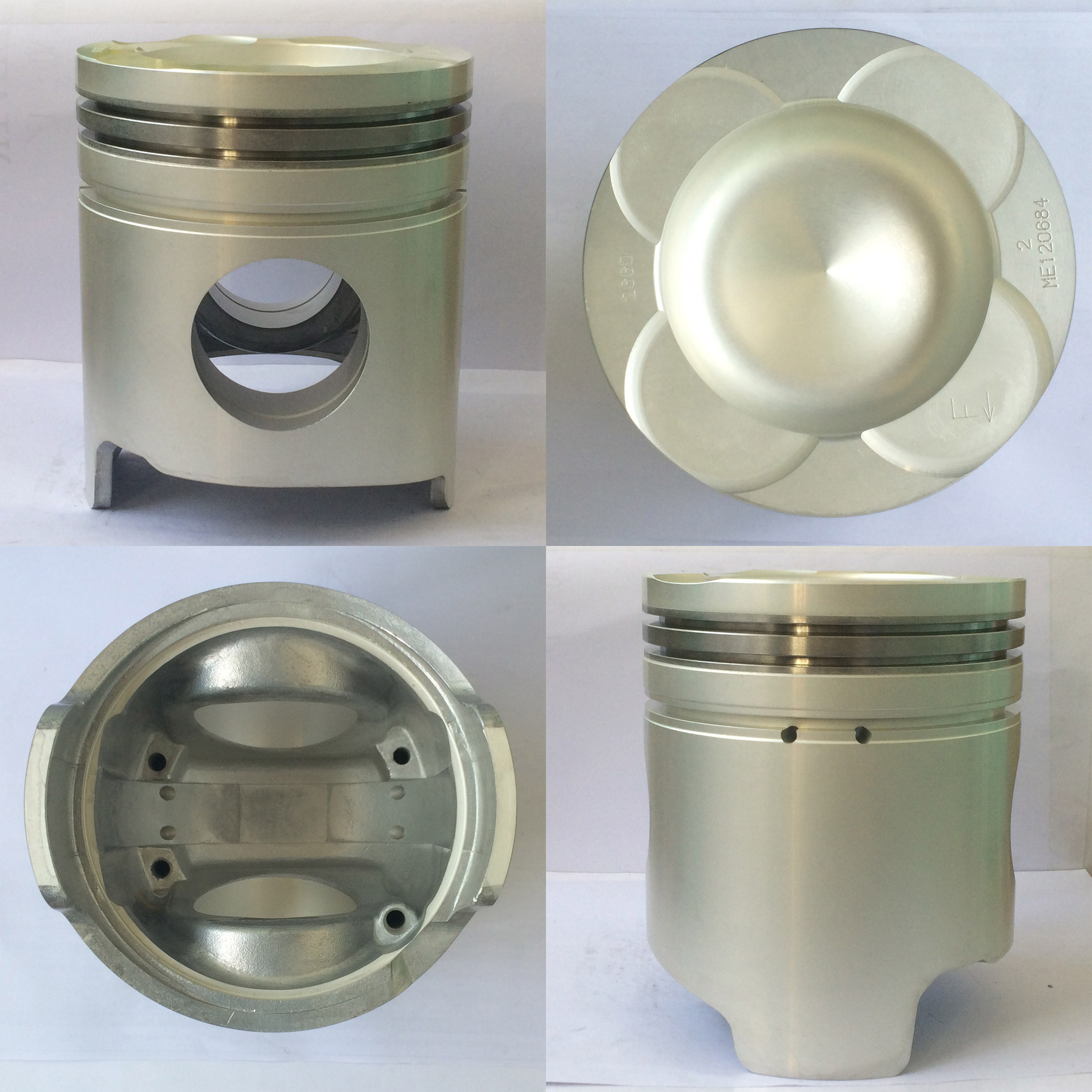 engine parts, piston 6d40 with pin and clips,high quality