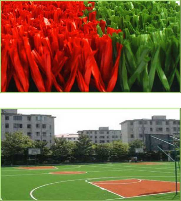 artificial grass for basketball