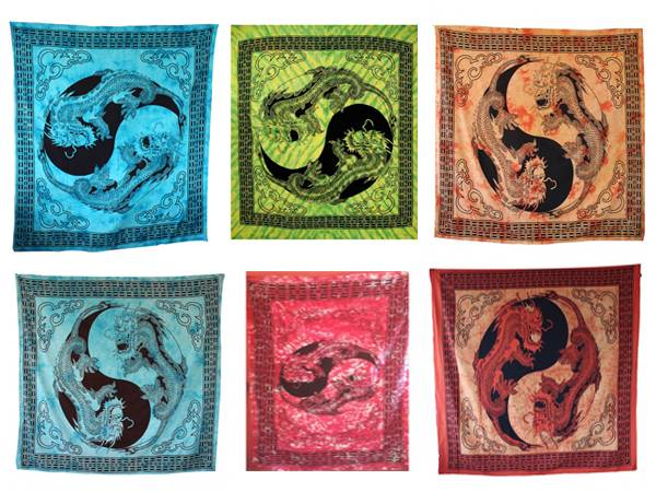 Handicrunch | Indian  Dragon hippy ethnic wall hanging Tapestry